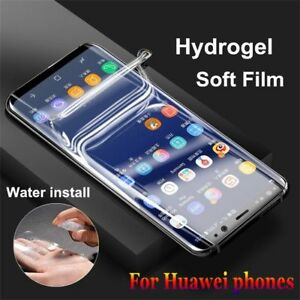 Hydrogel Full Coverage Front+Back Flim Cover For Huawei Mate 40 30 Pro P20 Lite