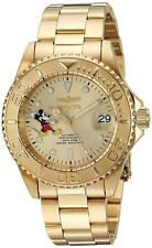 Invicta 24756 Men's Disney Limited Edition 40mm Automatic Champagne Dial Watch