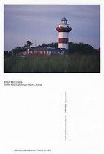 HILTON HEAD LIGHTHOUSE SOUTH CAROLINA UNITED STATES UNUSED COLOUR POSTCARD