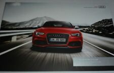 Audi RS5 Cabriolet Brochure (2012)