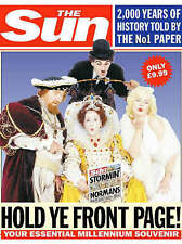 The  Sun : Hold Ye Front Page - 2000 Years of History on the Front Page of  The Sun by John Perry, Neil Roberts (Paperback, 1999)