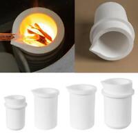 Quarz Silica Schmelztiegel Pot Dish Cup Frunace Gold Silber Casting