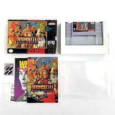 Romance of the Three Kingdoms III: Dragon of Destiny (Super Nintendo) Complete