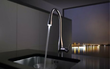 KITCHEN FAUCET  KWC EVE TALL  - Single-lever mixer with LED light 10.121.103.700