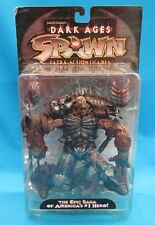 Spawn The Black Knight Figure McFarlane's Dark Ages Series 11 1998 New on Card