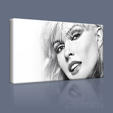 BLONDIE DEBBIE HARRY ATTRACTIVE ICONIC CANVAS ART PRINT PICTURE Art Williams