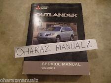 2010 mitsubishi outlander owner's manual pdf (714 pages).