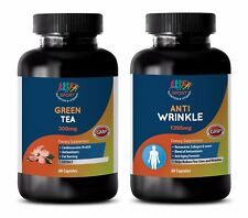 energy supplement organic - GREEN TEA – ANTI-WRINKLE COMBO 2B - grape seed compl