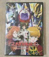 Mobile Suit Gundam UC Unicorn Collection DVD 2018 Sunrise 4 Disc Anime 1-7