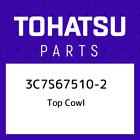 3C7S67510-2 Tohatsu Top cowl 3C7S675102, New Genuine OEM Part