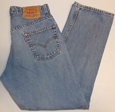Levi's 525 Relaxed Fit Straight Leg Jeans 30 x 30 USA Made 1997 Special Reserve