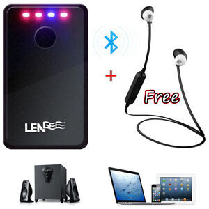 2 in 1 Stereo Bluetooth Audio Receiver Transmitter Wireless Sound Dongle Adapter