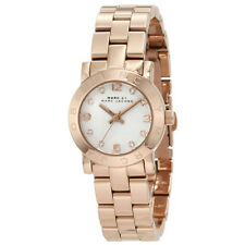Marc by Marc Jacobs Women's MBM3078 Mini Amy White Dial Rose Gold-Tone Watch