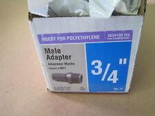 "Lot of Seventy five (75) Lasco 3/4"" Male Adapter 1436007 PVC Insert x MPT"