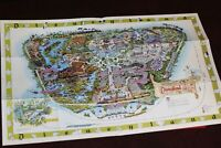Disneyland Map Walt Disney Archives Facsimile 1964 2003 Edison Square Sam McKim