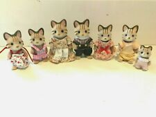 SYLVANIAN CELEBRATION MCCAVITY CAT FAMILY