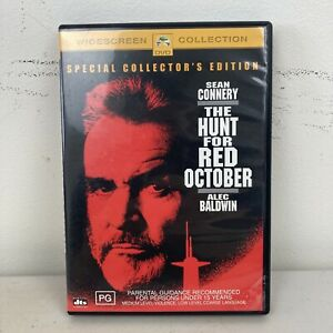 The Hunt For Red October DVD Sean Connery, Alec Baldwin Region 4 Free Postage
