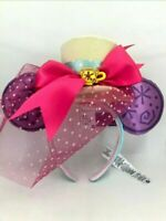 NEW Disney Minnie Mouse The Main Attraction Mad Tea Party Ears Headband March