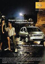 Publicité advertising 2004 Opel Meriva