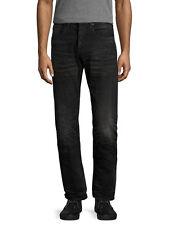 PRPS Japan Men Jeans P77P08P Demon Hi-Tech Black BLK size 42 NWT