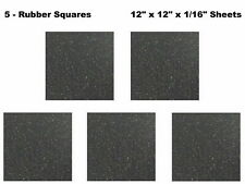 Rubber Sheet Squares (5-pack) 12
