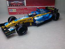 1:18 Renault F1 R25 Fernando Alonso 2005 GP BELGIUM Dragon - HW -3L 050