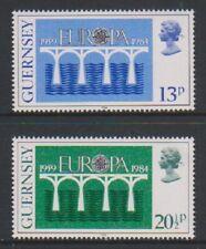 Guernesey - 1984, Europa Ensemble - MNH - Sg 292/3