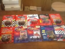 Lot Of 10 Jeff Gordon  Nascar  Diecast 1:64 1993-1997 Truck Baby Ruth Matchbox