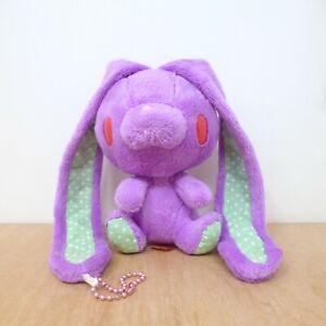 Chax GP Gloomy Bear Purple Dot All Purpose Rabbit Bunny Keychain Plush Soft Toy