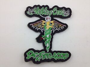 Motley Crue Embroidered Patch ~ Medical Logo