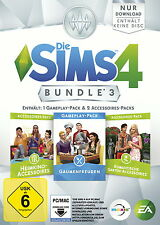 Die Sims 4: Bundle Pack 3 (Download Code) (PC/Mac, 2016, DVD-Box)