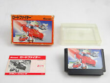 Road Fighter Nintendo NES Boxed Jap Import