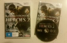 Medal of Honor Heroes 2 Nintendo Wii - Pal Complete - Fast Free Post!