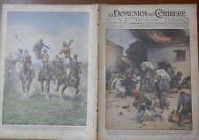 LA DOMENICA DEL CORRIERE 7 Settembre 1930 Luigi Brugnetti Cesare Battisti Nzegna