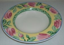 Villeroy & and Boch Gallo SWITCH SUMMERHOUSE A ROSE rimmed bowl / deep plate