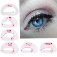 6er SET Eyeshadow Models Schablone Lidschatten Eye Tool Eyeliner Schminkhilfe