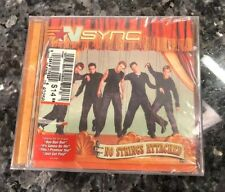No Strings Attached by Nsync Cd 2000 Jive Usa Brand New Sealed Timberlake N'Sync