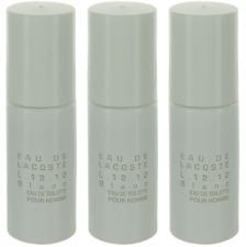 Eau De Lacoste L.12.12 Blanc By Lacoste For Men Combo Pack: Mini EDT (3x0.27oz)