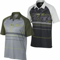 Oakley Mens O-Hydrolix™ Engage Short Sleeve Regular Fit Golf Polo Shirt