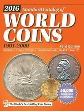 2016 Standard Catalog of World Coins 1901-2000, , 144024409X, New Book