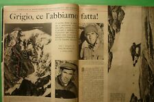 Période 1957 Walter Bonatti Monte Blanc Grand le Pilier D'Angle Toni Gobbi Jm