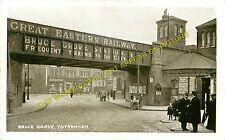 Bruce Grove Railway Station Photo. Seven Sisters - Lower Edmonton. (1)