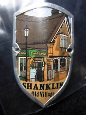 Shanklin Old Village used badge stocknagel hiking medallion mount G5373
