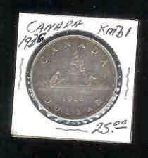 1936 Canada Silver Dollar coin KM 31