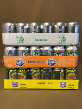 "7-up light, Fanta zero, Lipton zero ,je 24x0,33l Dose XXL-Paket ""72 Dosen total"""