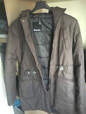 Bench EUROCOCOSDA Jacket Dark Khaki Donna Giacca Giacca Invernale Parka Verde