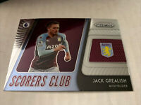 JACK GREALISH 2020-21 Prizm Premier League Scorers Club Insert Aston Villa!