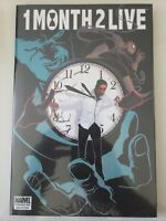 ONE MONTH TO LIVE MARVEL PREMIERE HARDCOVER FACTORY SEALED BRAND NEW UNREAD