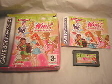 nintendo game boy advance Winx Club : The Quest for the Codex    boite GBA