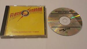 Flash Gordon Original Soundtrack Music CD By Queen Worldwide Post! 1994
